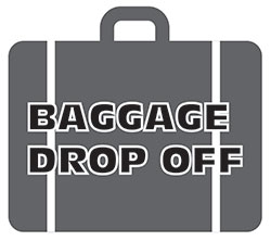 Baggage drop-off